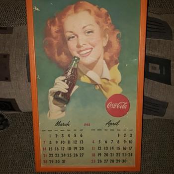 Coke Calendars - Coca-Cola