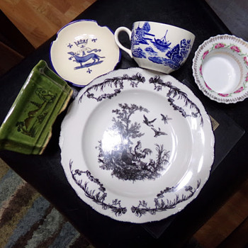 Thrift Store Porcelain. Anything Fun? - China and Dinnerware