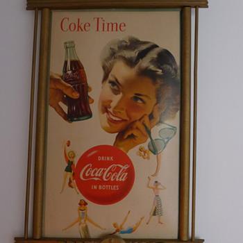 1953 Coca Cola cardboard - Coca-Cola
