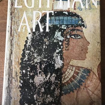 Egyptian Art book  - Books