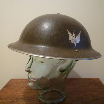 British WWII Naval steel helmet. - Military and Wartime