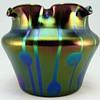 """Loetz """"Streifen und Flecken"""" bowl, Robert Medeu & Co., Berlin"""