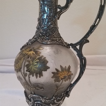 My Beautiful  French Claret Jug - Art Nouveau