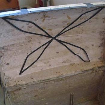 Antique Trunk #11 Continued - Furniture