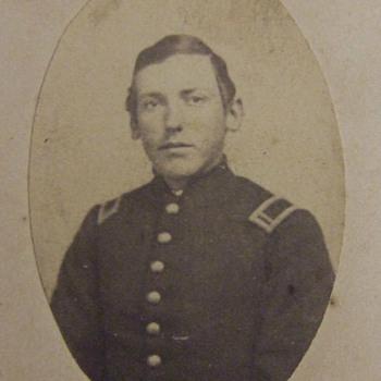 Civil War CDV of Heroic Bucktail Soldierwho died at Gettysburg
