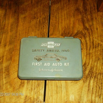 1960 Chevrolet First Aid Kit