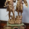 1880 Rancoluet sclupture on French clock