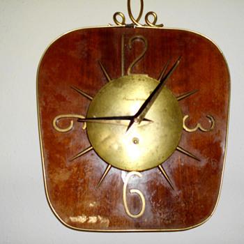 Phinney Walker Wall Clock, 1935 -40
