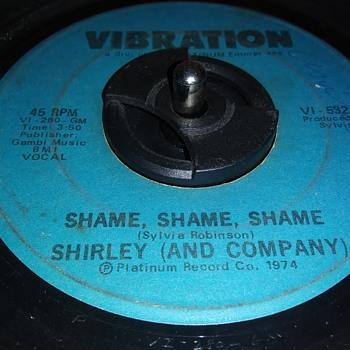 45 RPM SINGLE....#197 - Records