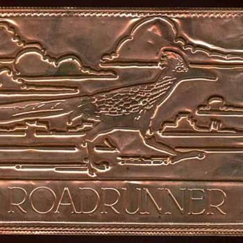 """Road Runner """"Clown of the Desert"""" - Postcards"""