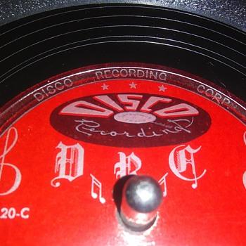 "10"" SHELLAC DISC....#20 - Records"