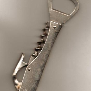 Eberle Bottle Opener / Corkscrew