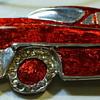 Studio Jewelry car brooch