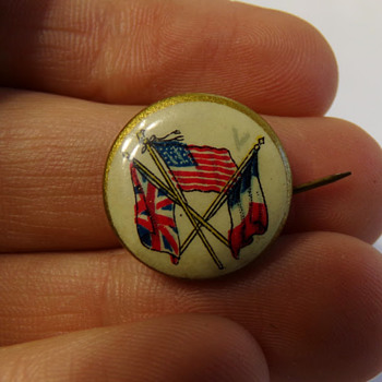 WW1 Pin? - Medals Pins and Badges