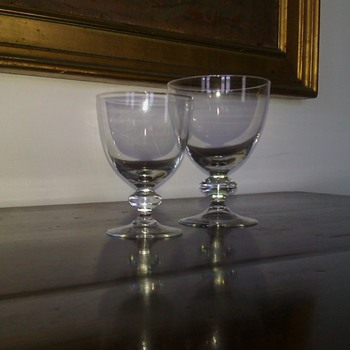 ??? Do you recognize these ??? - Glassware