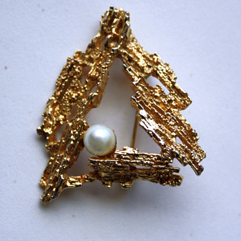 Christmas tree pin - Christmas
