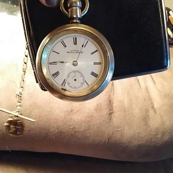 Waltham Pocket Watch with Fob