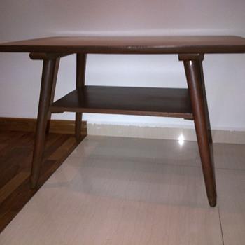 Vintage Teak coffee table with Formica top
