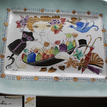 Large Ceramic Dish - made in Finland
