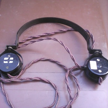 My radio headset - Military and Wartime