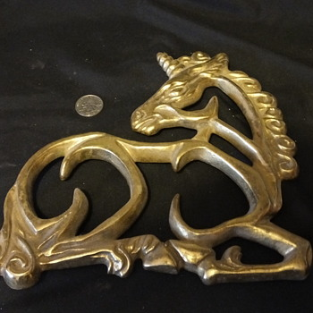 My BIG Brass Trivet