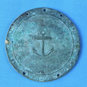 Old Military Coin? with anchor - Military and Wartime