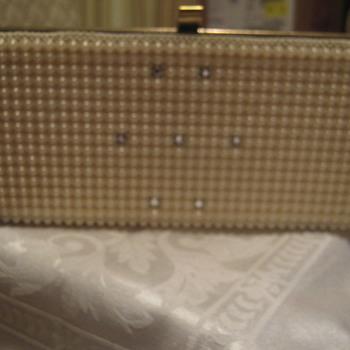 Plastic (Metal Frame) Box Purse, 1950s