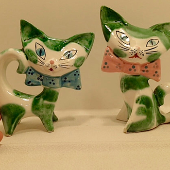 Who can identify the maker of these cats? - Animals