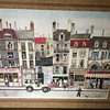 Early 20th Century Xavier Color Lithograph  French