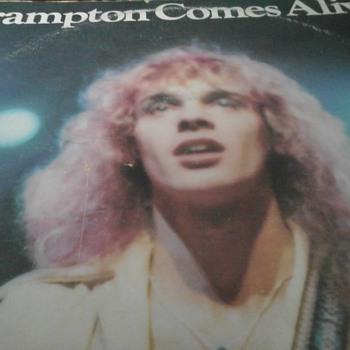 "Peter Frampton  ""Frampton Comes Alive ""  - Records"