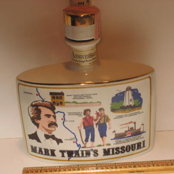 Mark Twain decanter - Bottles