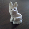 old stone carved fox? Need help to identify stone