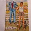 "RONALD REAGAN PAPER DOLL-POSTCARD--""RANCHER RONNIE"""