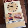 Vintage St Joseph Aspirin Clock