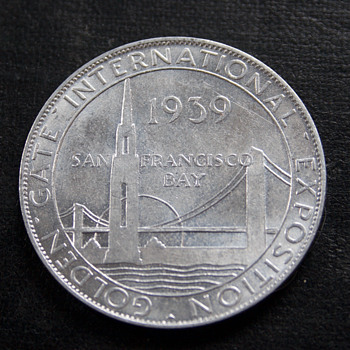 1939 Union Pacific Token  - Art Deco
