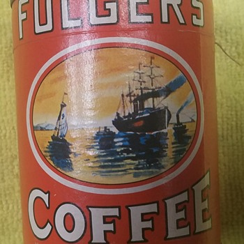 1950's Folger's Coffee Puzzle - Advertising
