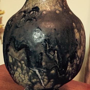 Unique handmade pottery vase