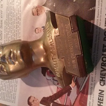 Cool Chevrolet Salesman Award - Advertising