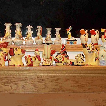 Ditmar Urbach Figurals - Pottery