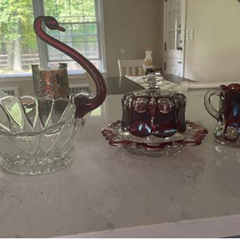 red glassware - Glassware