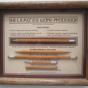 The L.E.A.D. 2.5 Word Processor - Office