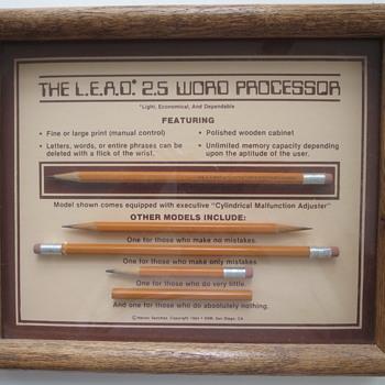 The L.E.A.D. 2.5 Word Processor