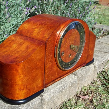 Mauthe German Mantle Clock Westminster - Clocks
