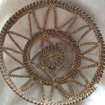 Gullah (?) Woven Basket
