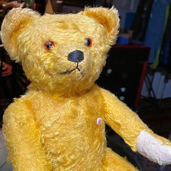 Golden Mohair Petz Teddy Bear - Dolls