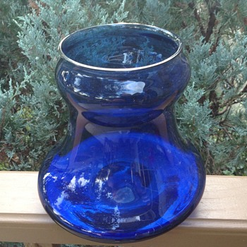 Oh, the blues can be great :) - Art Glass