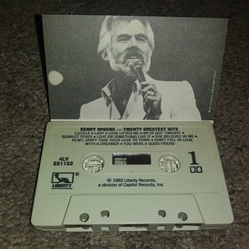 Mr. Kenny Rogers...On Cassette Tape - Records