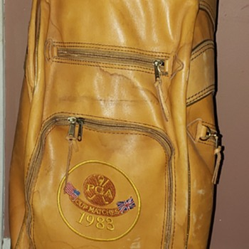 1983 PGA Golf Gene Borek golf bag. Vintage  - Sporting Goods