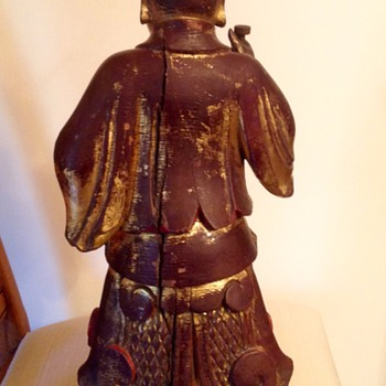 Chinese warrior or nobility, very old