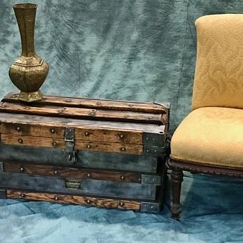 Vanderman Trunk, Strong Box, Tool Box - all around cool item.   - Furniture